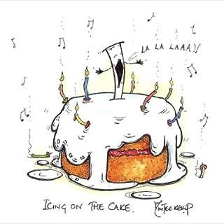 3x ciliegina sulla torta biglietti di auguri