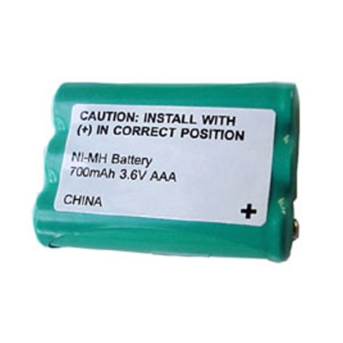 AT-T/Lucent E2125 Cordless Phone Battery Ni-MH 1X3AAA W/Pull Tab, 3.6 Volt, 700 mAh - Ultra Hi-Capacity - Replacement for Rechargeable Battery