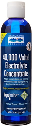 Trace Minerals Research, 40,000 Volts! Elektrolyte-Konzentrat 237 ml