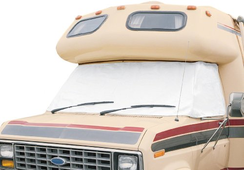 Classic Accessories OverDrive RV Windshield Cover, White, For Ford '92 - '03