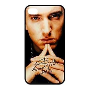 BestClassmates (TM) Hiphop Rap Singer Eminem Design Back Cover Protective Skin For Iphone 5 5s