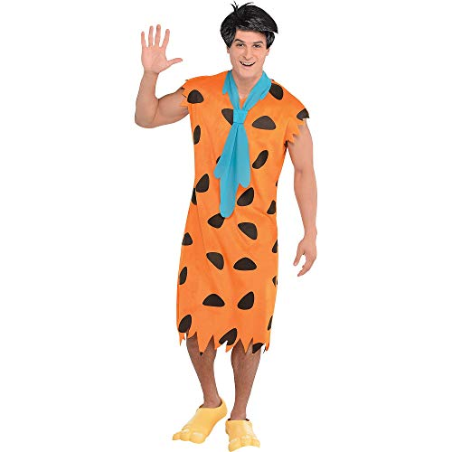 SUIT YOURSELF Fred Flintstone Halloween Costume for Men, The Flintstones, Standard, Includes Accessories ()