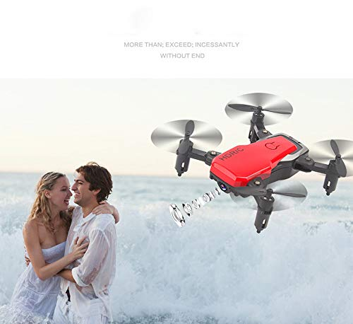 Price comparison product image US Fast Shipment Tuscom Mini D2WH Foldable 6-Axis RC Quadcopter Drone Toys / 0.3MP HD Camera, WiFi FPV, 2.4G 6-AxisDrone / for Photos Record Great Memory (3 Colors) (red)
