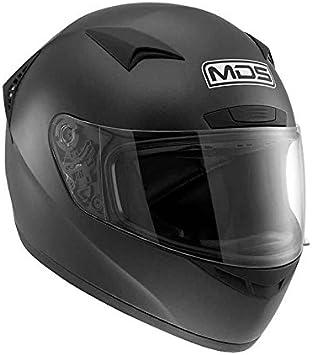 XS Bianco MDS Casco Moto M13 E2205 Solid