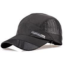 Men Women Summer Outdoor Sport Baseball Hat Running Visor Sun Cap Breathable