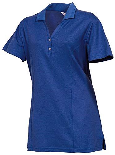 Women's Knit Shirt, Cobalt, 3XL