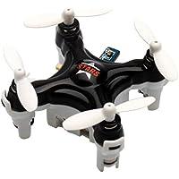 YouCute TINY! Cx Stars Worlds Smallest Drone Nano Drone RC Quadcopter mini quadcopter drone 2.4G 6 Axis Gyro (Black)