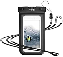 """YOSH Waterproof Phone Pouch Waterproof Phone Case Cell Phone Dry Bag Underwater Phone Pouch Universal Waterproof Case Compatible with iPhone XR Xs X 8 7 6 6s Plus Galaxy S9 S8 S7 Pixel 2 3 up to 6.1"""""""
