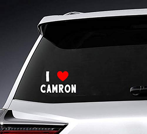Poloran I Love Camron Custom Decals, Stickers