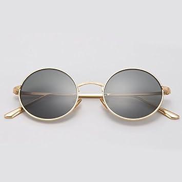 Damen Polarisierte Sonnenbrille Mode Bunte Sonnenbrille Retro Sonnenbrille , Goldrahmen Grüner Film