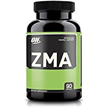 Optimum Nutrition ZMA Nighttime Muscle Recovery and sleep aid supplement, 90 Capsules