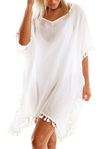 Sidefeel Women Tassel Beachwear Bikini