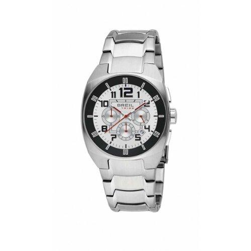 Breil Tribe MatchPoint TW0449 - Reloj de Caballero de Cuarzo, Correa de Acero Inoxidable Color Plata: BREIL: Amazon.es: Relojes