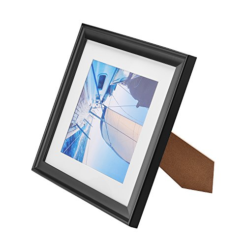 Innocheer 11x14 Picture Frame/Diploma Frame Solid Wood with Stand, Extra 3 Mats Fit 8x10 Inch/5x7 Inch Photo or (Diploma Cover 8 X 10)