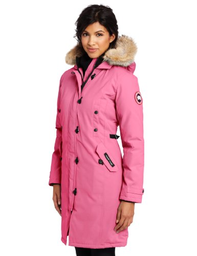 Canada Goose Women's Kensington Parka, Summit Pink, Small - Buy Online in UAE. | Sports Products in the UAE - See Prices, Reviews and Free Delivery in Dubai ...