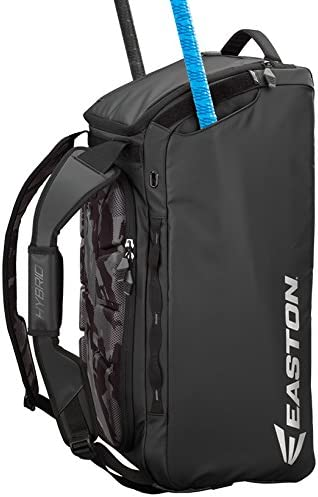 Amazon Com Easton Hybrid Backpack Duffle Bag Black Sports Outdoors