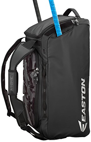 Bags Baseball Duffle (Easton Hybrid Backpack/Duffle Bag, Black)