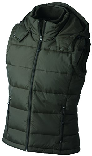 Nicholson Vest Vest Green mud Woman James Vestded zdqvv