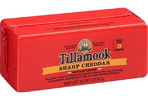 TILLAMOOK White Cheddar Cheese Deli, Sharp, 7 Ounce (Pack...