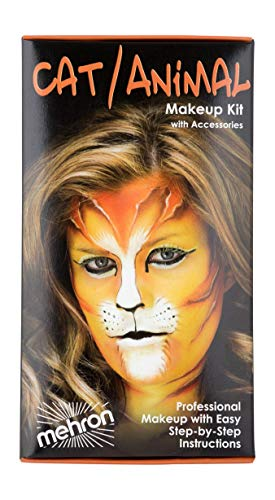 Mehron Makeup Premium Character Kit (Cat/Animal) -