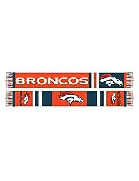 NFL Men's Denver Broncos 5 Foot Long Super Fan Scarf