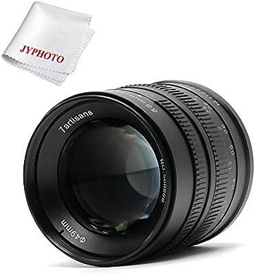 7artisans Objetivo 55mm F1.4 APS-C para Sony E-Mount cámaras como ...