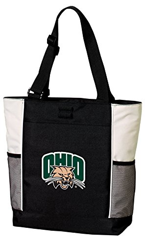 Broad Bay Ohio Bobcats Tote Bags Ohio University Totes Beach Pool Or Travel by Broad Bay