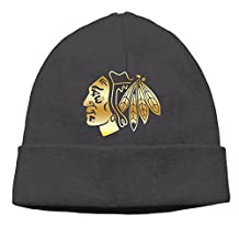 Chicago Blackhawks Gold Beanie Cap