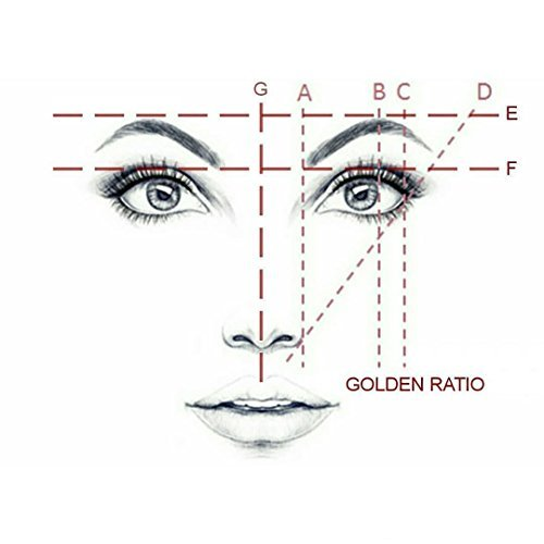Golden Mean CALIPERS Eyebrow Microblading Permanent Makeup