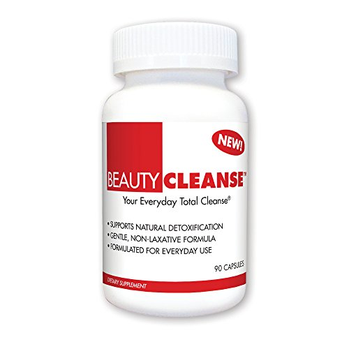 Daily Cleanse Capsules 90 - BeautyFit BeautyCleanse, Natural Daily Detoxification For Women, 90 capsules