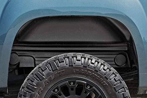 Rough Country Rear Wheel Well Liners (fits) 2007-2013 Chevy Silverado 1500 4207 Rear Wheel Well Liners ()
