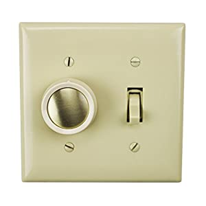lutron fd 20 277 3 iv ivory 277v commercial fluorescent 3 way lutron fd 20 277 3 iv ivory 277v commercial fluorescent 3 way toggle rotary dimmer switch