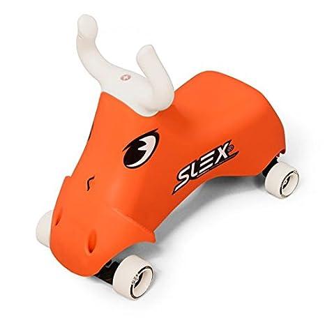 SLEX Portador Rodeo Bull Dès 2 años, Kart con ruedas para niños con forma de toro - Vehículo para niños.: Amazon.es: Juguetes y juegos