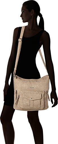 Tamaris Adriana - Shoppers y bolsos de hombro Mujer Beige (Pepper)