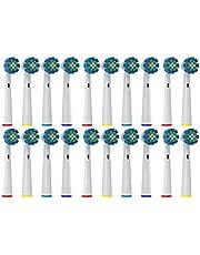 Ersatzbürsten Kompatibel zu Oral B Elektrische Zahnbürsten - von Oliver James (20 stk)
