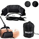 Neck Hammock by BHALLI - Get Natural & Effective Relief from Chronic Neck Pain - Attach This Cervical Traction Device to Any Door/Railing for Instant Results - Affordable Neck Stretcher Support