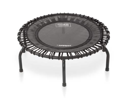JumpSport 220 Fitness Trampoline | Safe & Stable Non-Tipping...