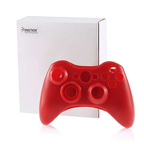 eForCity® Shell Compatible With Microsoft Xbox 360 Wireless Controller , Red