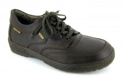 Mephisto , Chaussures de ville à lacets pour homme Marron oscuro