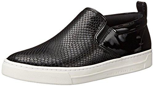 Marc By Marc Jacobs Donna Sneaker Con Stampa Serpente Smaltata Nera A Forma Di Serpente
