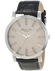 Kenneth Cole New York Mens KC1931 Classic Light Grey Dial Field Case Watch