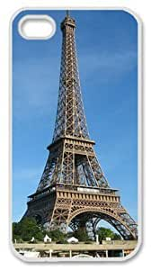 Iphone 4 4s PC Hard Shell Case Eiffel Tower 4 White Skin by Sallylotus by supermalls