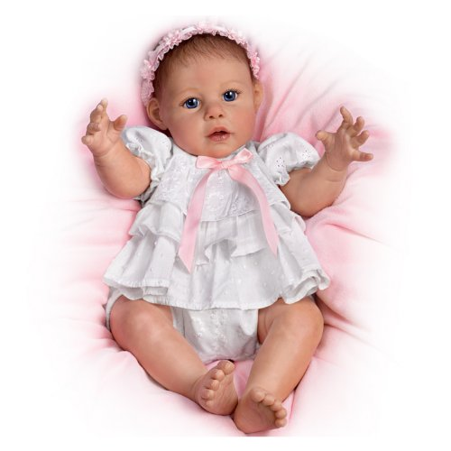 Hugs From Hailey Hugs You Back - So Truly Real® Lifelike, Interactive & Realistic Baby Doll 20-inches  by The Ashton-Drake Galleries