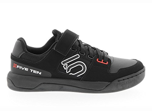 Five Ten Hellcat Men's Clipless/Flat Pedal Shoe: Black/White 10.5 For Sale