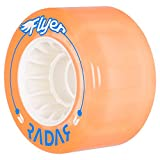 Radar Wheels Flyer 66mm Roller Skate Wheels - Peach