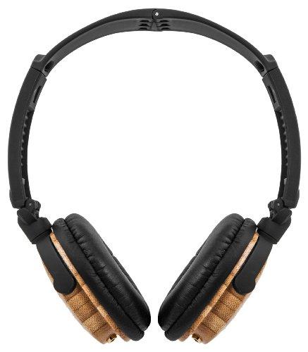 ZAGG Travel Friendly Wood Headphones - Bamboo