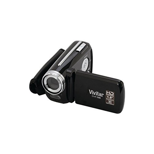Vivitar-12-MP-Digital-Camcorder-with-4X-Digital-Zoom-Video-Camera-with-18-Inch-LCD-Screen-Black-DVR508