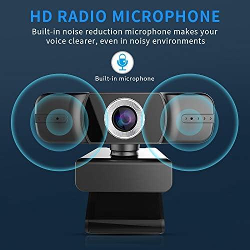 1080P HD Webcam 2 Megapixels with Microphone,Flexible Rotation,6.5 ...