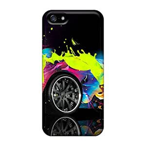 Defender Case For Iphone 5/5s, Colorful Lambo Pattern
