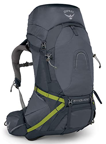 Osprey Packs Atmos Ag 50 Backpacking Pack, Abyss Grey, Medium